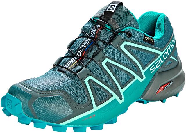 Salomon Speedcross 4 GTX Shoes Dame balsam greentropical greenbeach glass